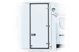 Side single leaf doors